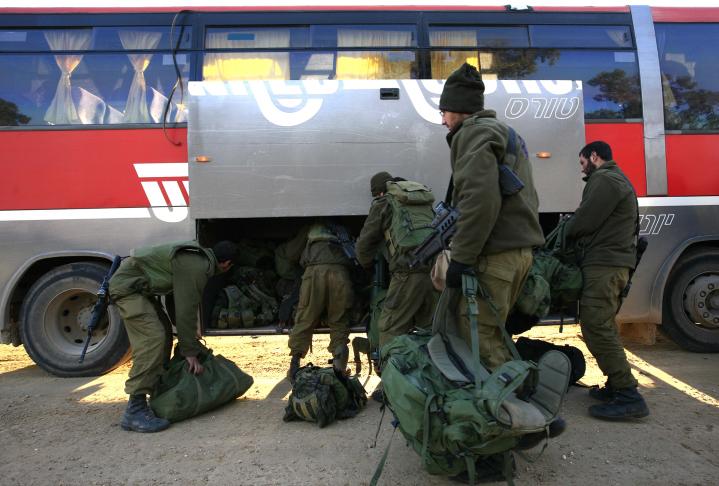 אוטובוס, תא מטען