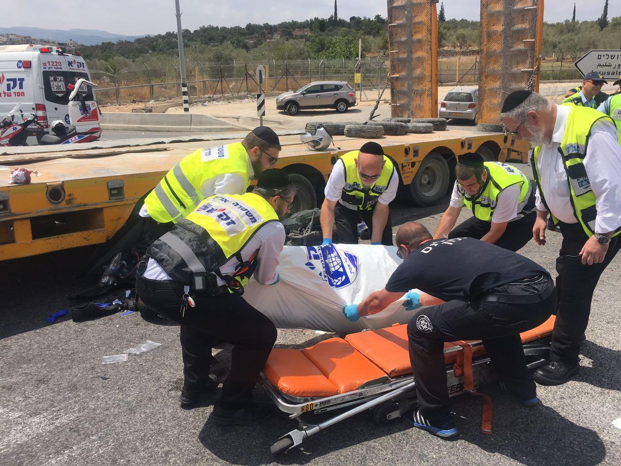 תאונה, רוכב אופנע