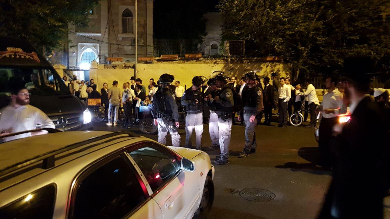 תקיפה בשכונת בית ישראל