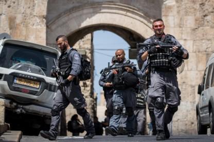 """מג""""ב, שוטרים, העיר העתיקה"""