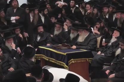 """הלווית רבי שלמה גולדמן זצ\""""ל"""