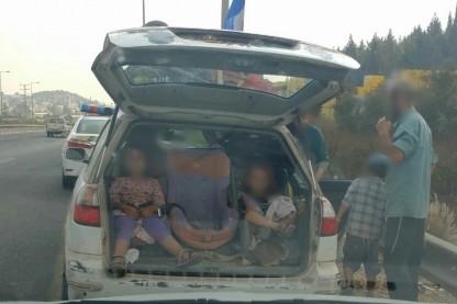 רכב, חרדים, ילדים
