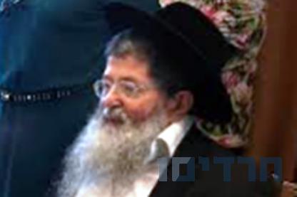 """הרב דוד זלמנוביץ ז\""""ל"""