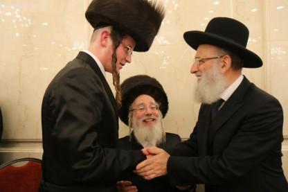 """חתונת ביתו של חה\""""כ ישראל אייכלר"""