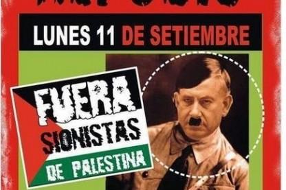 נתניהו, כרזה אנטישמית, ארגנטינה
