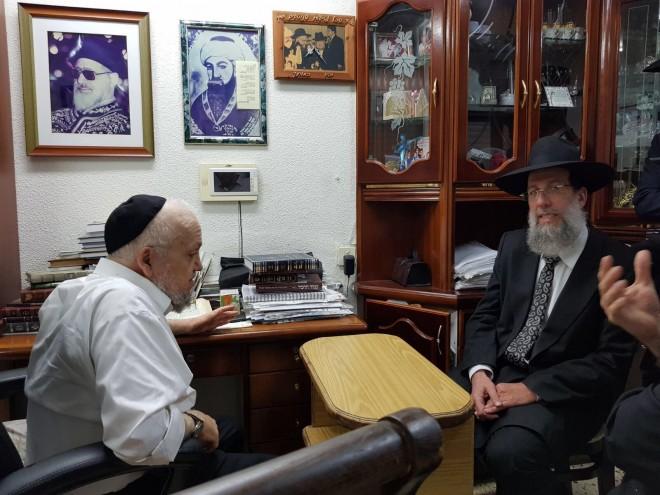 הרב מאיר מאזוז, רב יעקב כהן