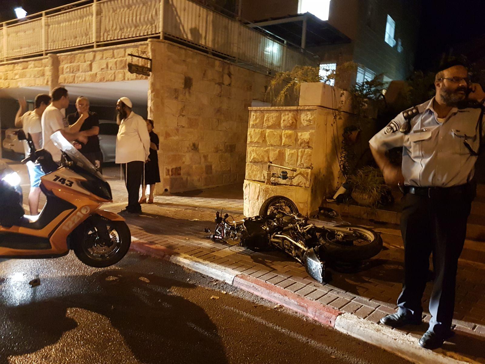 תאונת אופנוע, חשמונאים
