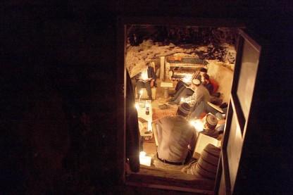 לימוד במערה