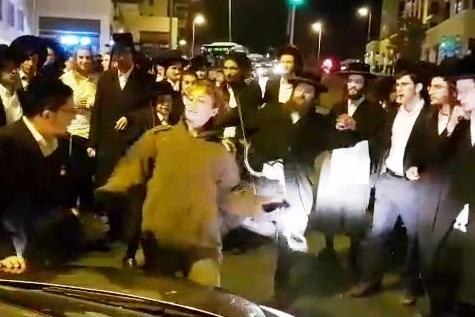 הפגנת הפלג, ירושלים, חיילת