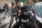 הפגנה, לישכת הגיוס בירושלים
