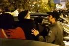 """שוטר יס\""""מ דוחף נשים"""