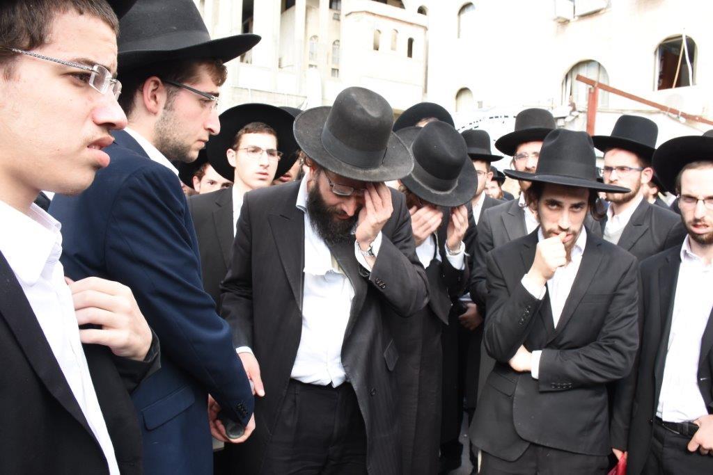 הלווית הרבנית ברלין
