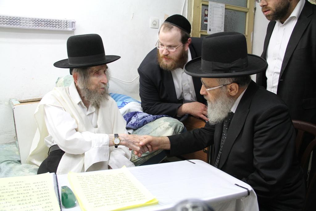 הרב יצחק יוסף, הרב שטיינמן