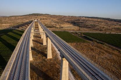 מסילת רכבת, ירושלים