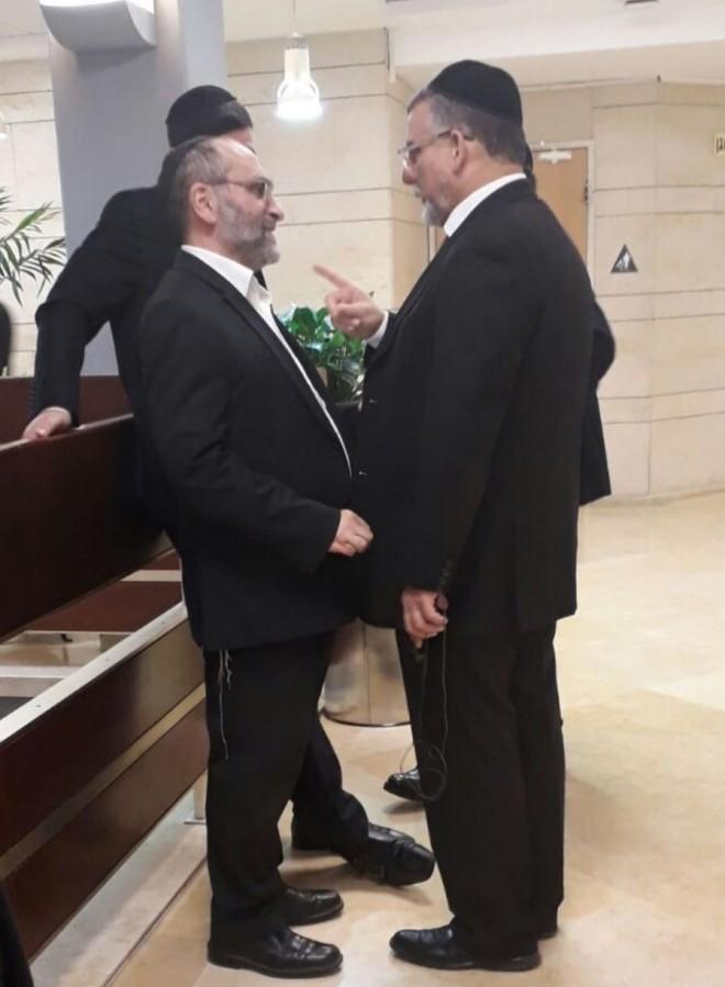 יעקב ריבלין, יצחק וקנין