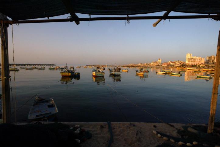 סירת דייגים, עזה