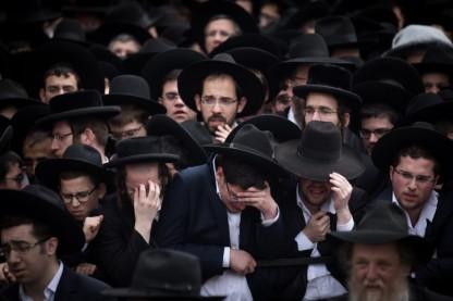 """הלווית הרב שמואל אוירבך זצ""""ל"""