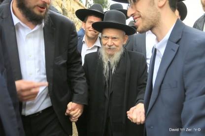 הרב גרשון אדלשטיין, מסע חיזוק