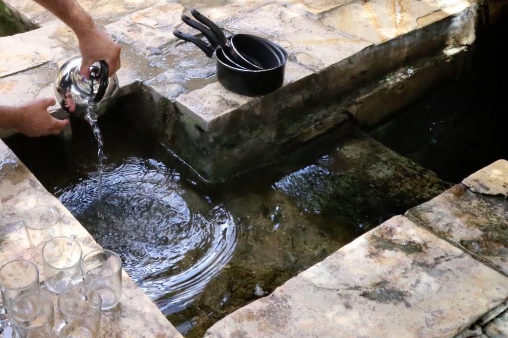 טבילת כלים, מקווה