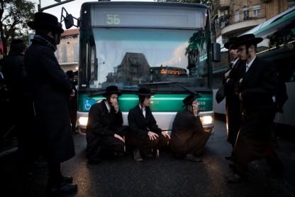 הפגנה, ככר השבת, תינוק טבע בג'קוזי