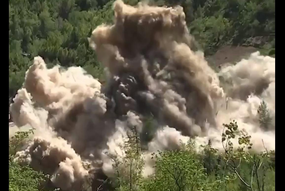 השמדת אתר הגרעין,  צפון קוריאה