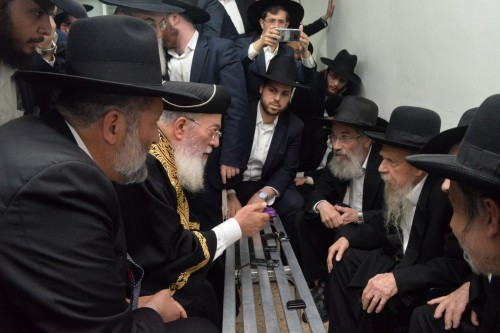 דרעי, הרב עמאר, הרב אדלשטיין
