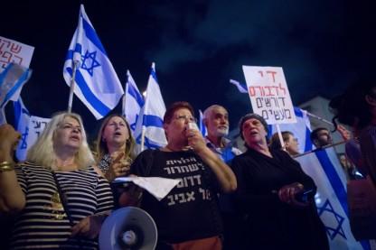 דרום תל אביב, הפגנה, מסתננים