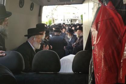 הלוויה, ויזניץ, מושקוביץ