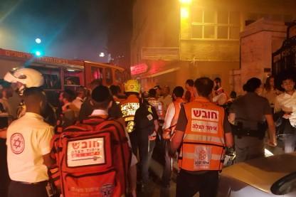 שריפה רחוב הנביאים