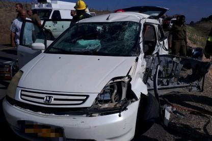 תאונה בגולן