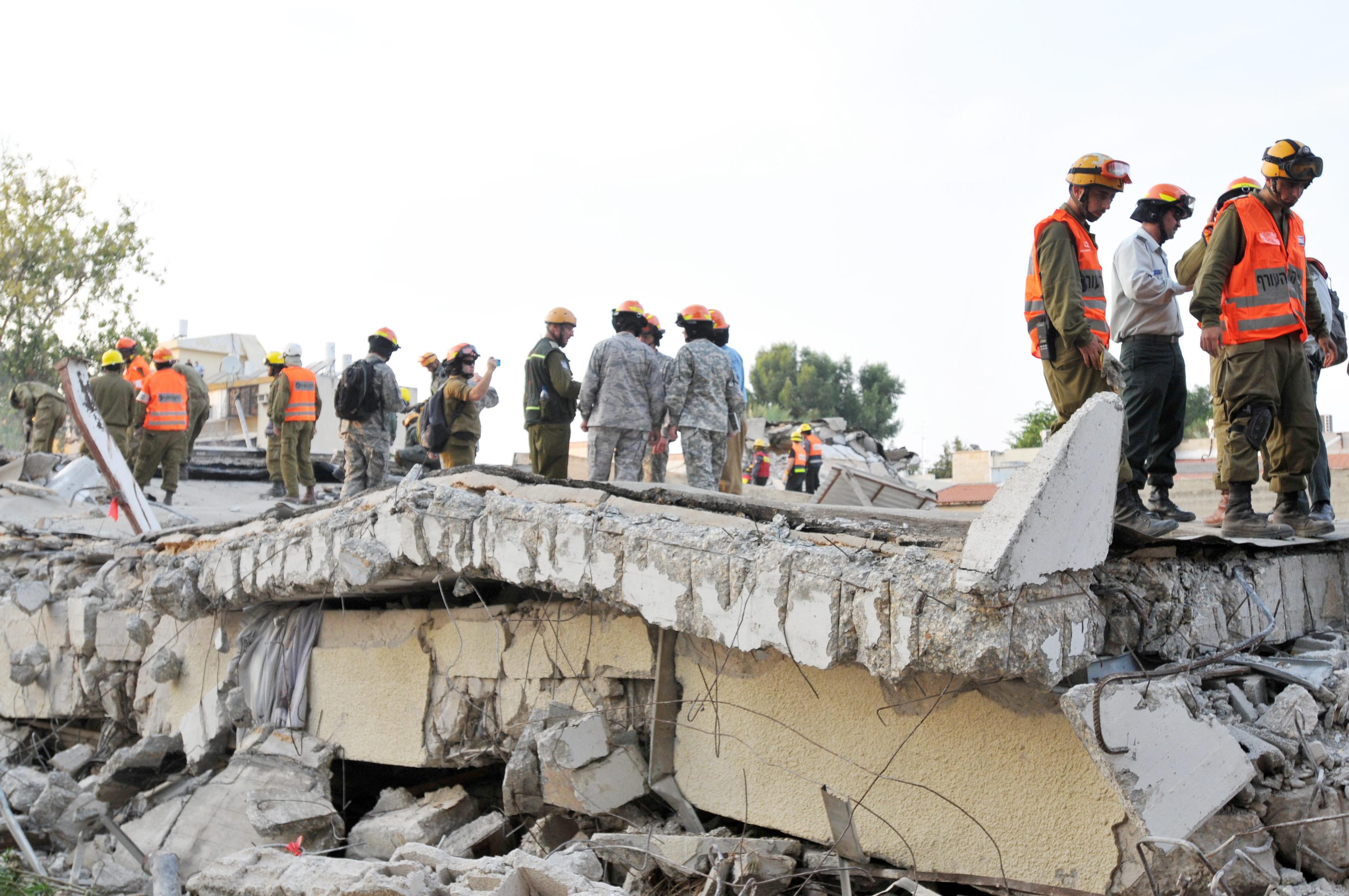 תרגיל רעידת אדמה