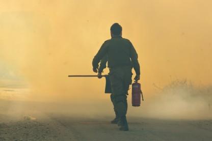שריפה, כבאי אש, עוטף עזה