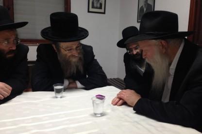 הרב גינזבורג, הרבי מקוסוב