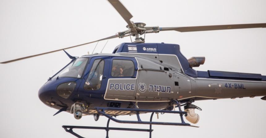 מסוק, משטרה