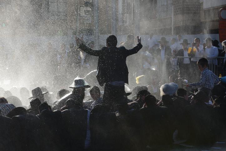 הפגנת הפלג, בני ברק