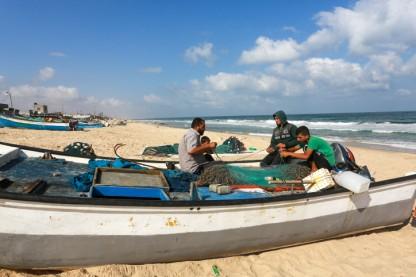 דייגים, עזה