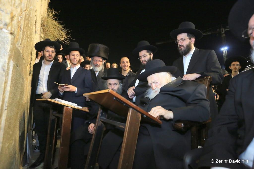 הרב חיים קנייבסקי, ירושלים, סוכות תשעט