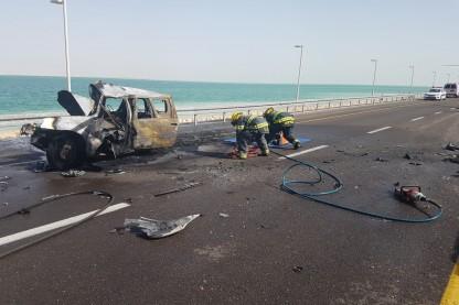 תאונה, ים המלח