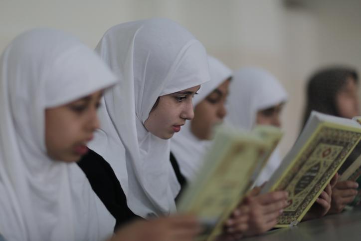 מוסלמיות, פלסטיניות