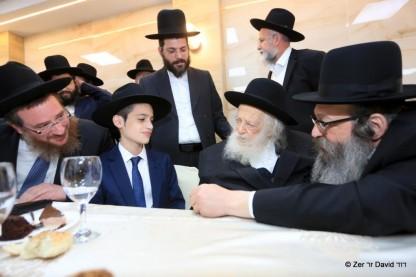 הרב חיים קנייבסקי, בר מצווה, נין, הרב מאיר רוט