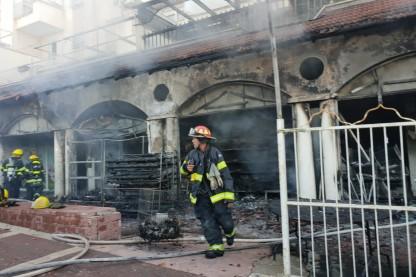 שריפה, בית שמש