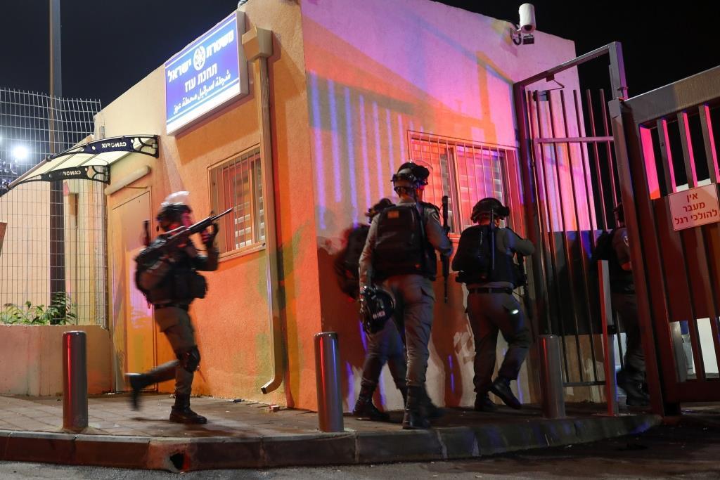 פיגוע, תחנת משטרה