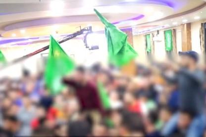 חתונה ירוקה, דגלי חמאס