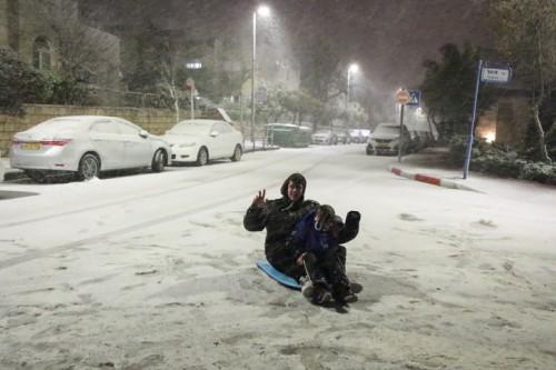 שלג, אפרת