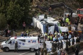 תאונה, כביש 443, אוטובוס